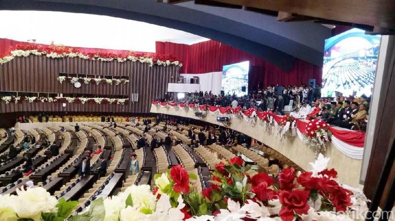 Suasana Sidang Jelang Pidato Kenegaraan Presiden Jokowi